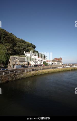 Lynmouth Harbour, Devon, England - Stockfoto