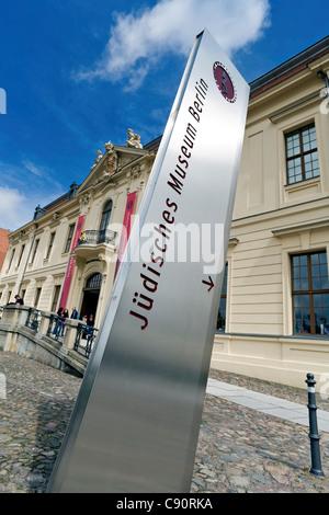 Eingang zum jüdischen Museum, Berlin, Deutschland - Stockfoto