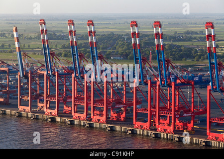 container terminal bremerhaven stockfoto bild 48818321 alamy. Black Bedroom Furniture Sets. Home Design Ideas