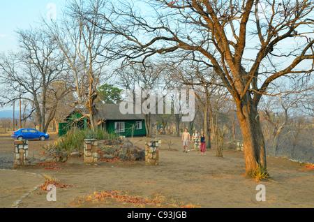 Simbabwe ist ein kleines Land mit einer unglaublichen Vielfalt an Landschaften und Tiere. Stockfoto