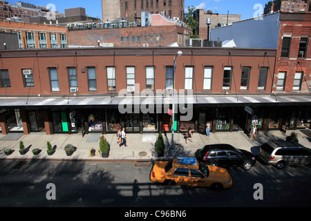 Meatpacking District, Downtown Szeneviertel, Manhattan, New York City, USA - Stockfoto