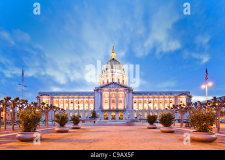 Rathaus, San Francisco - Stockfoto