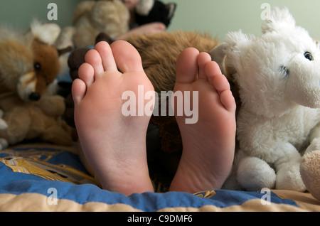 Nackte Füße - Stockfoto