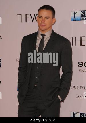 6. Februar 2012 - Los Angeles, Kalifornien, USA - Channing Tatum Teilnahme an die Weltpremiere von '' The Vow'' - Stockfoto