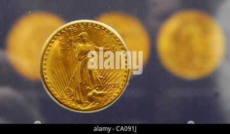 Die 1933 Vereinigten Staaten Gold Münze Double Eagle Bild Die