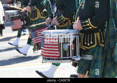 St. Patrick es Tag 2012 West Orange, New Jersey USA 11. März 2012