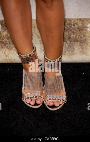 5. Juni 2010 - Hollywood, Kalifornien, USA - Courtney Hansen während Spike TV 4. jährlichen GUYS CHOICE AWARDS in - Stockfoto