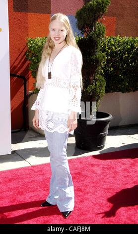 6. Oktober 2007 - statt Hollywood, Kalifornien, USA - Sophia Vassilieva während Variety POWER OF YOUTH EVENT, im - Stockfoto