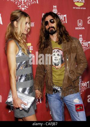 19. Oktober 2007 - statt Hollywood, Kalifornien, USA - Sheri Moon und Rob Zombie während SPIKE TV SCREAM 2007, im - Stockfoto