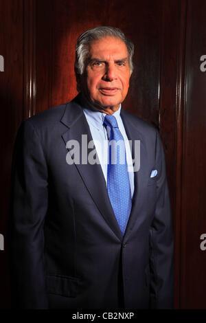May16, 2012 - Mumbai, Indien: Porträt des indischen industriellen Rata Tata, Vorsitzender des Imperiums Tata Bombay - Stockfoto