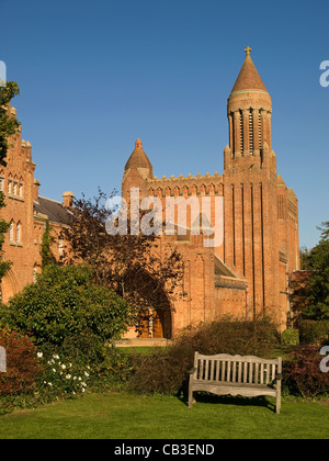 Quarr Abtei Isle Of Wight England UK - Stockfoto
