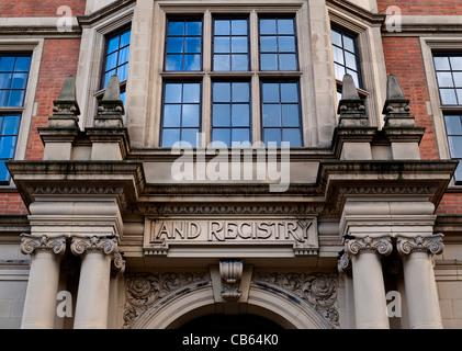 Land Registry Head Office Lincolns Inn Felder Holborn, London - Stockfoto