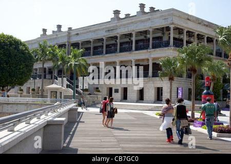 Murray Haus restauriert Kolonialgebäude Stanley, Hongkong, Sonderverwaltungsregion Hongkong, china - Stockfoto