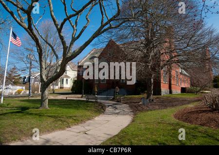 Chatham Öffentlichkeit Bibliotheksgebäude auf Cape Cod - Stockfoto