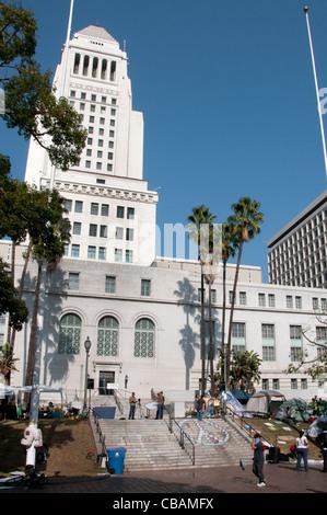 Rathaus Los Angeles USA Kalifornien des amerikanischen USA Amerika - Stockfoto