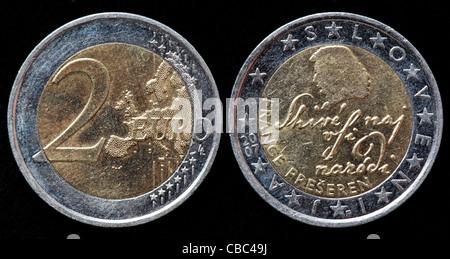 2 Euro Münze Frankreich 2007 Stockfoto Bild 41444451 Alamy