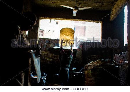 Müll-Stadt. Kairo. Ägypten. 2011 sind Müll Dörfer in Ägypten eine urbane Phänomen, das bis in den späten vierziger - Stockfoto