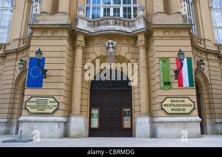 Magyar Mezögazdasagi Muzeum das Landwirtschaftsmuseum äußere Városliget der Stadt Budapest Ungarn Europapark - Stockfoto