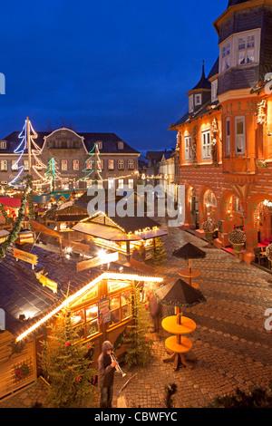 deutschland niedersachsen goslar weihnachtsmarkt am abend stockfoto bild 82815463 alamy. Black Bedroom Furniture Sets. Home Design Ideas