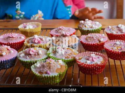 Nahaufnahme der cupcakes - Stockfoto
