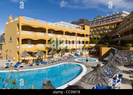 El Marques Palace Hotel, Puerto de Santiago, Teneriffa. - Stockfoto