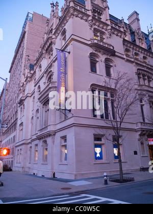 Das jüdische Museum in Manhattan - Stockfoto