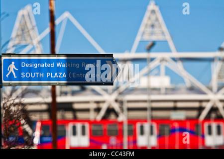 Olympic Park in London 2012 - Stockfoto