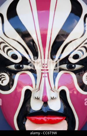 China, Hong Kong, Stanley Market, chinesische Maske