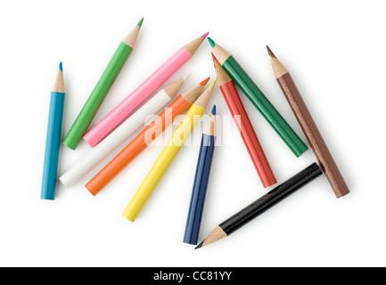 Buntstifte für Schule oder professionellen Einsatz - Stockfoto