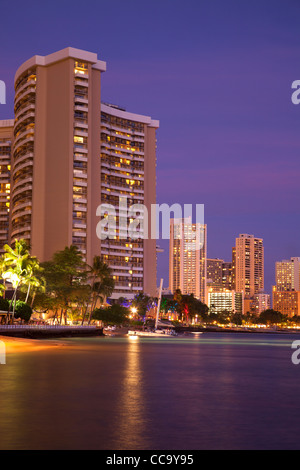Waikiki, Honolulu, Hawaii. - Stockfoto