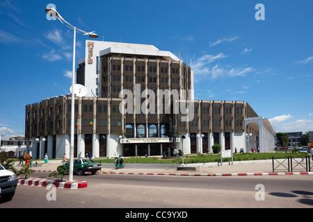 Ministère de L'Economie des finanziert et du Budget, Brazzaville, Republik Kongo, Afrika - Stockfoto