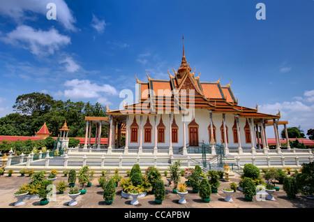 """Silver"" Pagode | Phnom Penh - Stockfoto"