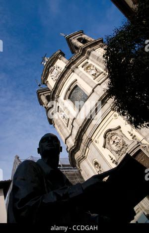 Basilica de San Miguel, Madrid, Spanien. - Stockfoto