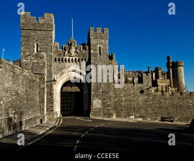 Arundel Castle, West Sussex, Sitz der Herzöge von Norfolk - Stockfoto