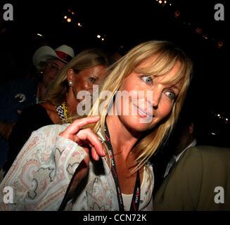 30. August 2004; New York, NY, USA; Schauspielerin BO DEREK am ersten Tag der Republican National Convention statt - Stockfoto