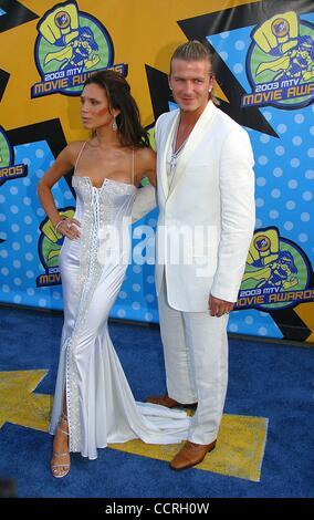 31. Mai 2003 vergibt - Hollywood, Kalifornien, USA - I7579CHW.2003 MTV MOVIE. SHRINE AUDITORIUM, LOS ANGELES, CA.05/31/2003. - Stockfoto