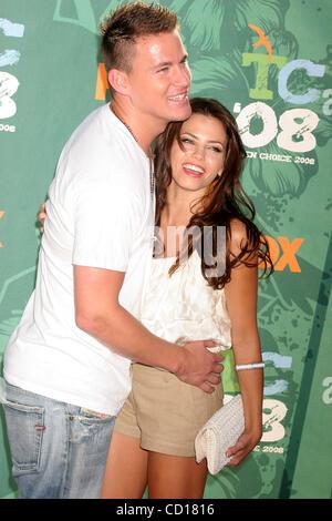 3. August 2008 - Hollywood, Kalifornien, US - I13426CHW.'' TEEN CHOICE 2008'' PRÄSENTIERT VON FOX. GIBSON AMPHITHEATRE, - Stockfoto