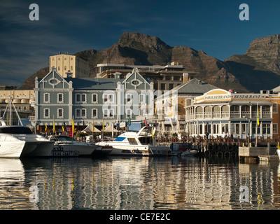 Waterfront in Kapstadt, Südafrika. - Stockfoto