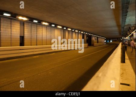 In der F1-Tunnel in Monaco, Frankreich - Stockfoto