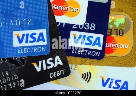 Visa Electron Debit-Karte Stockfotografie - Alamy