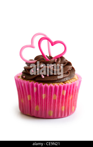 Valentine cupcake - Stockfoto