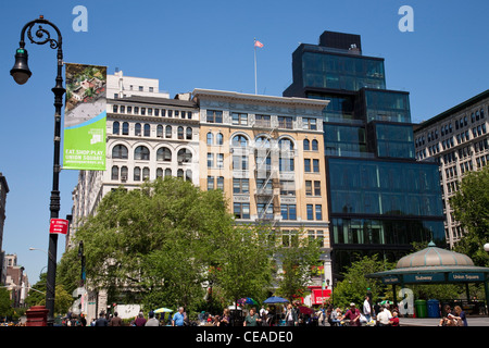 Union Square, 14th Street, NYC - Stockfoto