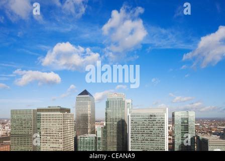 Canary Wharf; London; England - Stockfoto