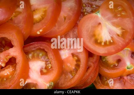 Tomaten-Textur-Hintergrund - Stockfoto