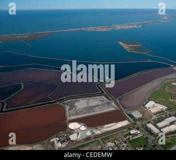 Luftaufnahme Salinen Bucht von San Diego, Kalifornien - Stockfoto