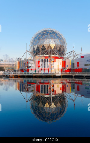TELUS World of Science, False Creek, Vancouver, Britisch-Kolumbien, Kanada - Stockfoto