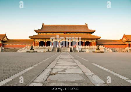 Die Verbotene Stadt (Palast) in Peking, China - Stockfoto
