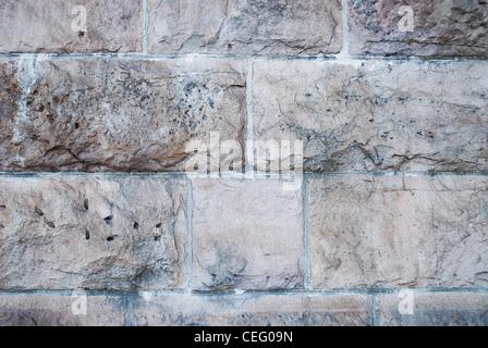 Stein, Wand, Textur, Block, Ziegel, Muster, alt, schmutzig, - Stockfoto
