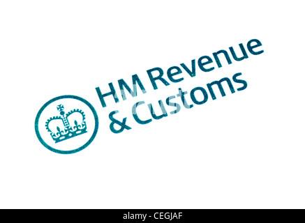 HM Revenue & Customs logo - Stockfoto