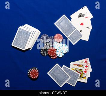 Verdeckte Spielkarten